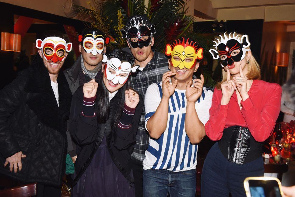 Shaun White, Richard Chai, Liu Wen, Prabal Gurung, Canis Chow (Photo: Hennessy).