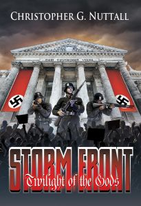 The cover for The Storm Front.