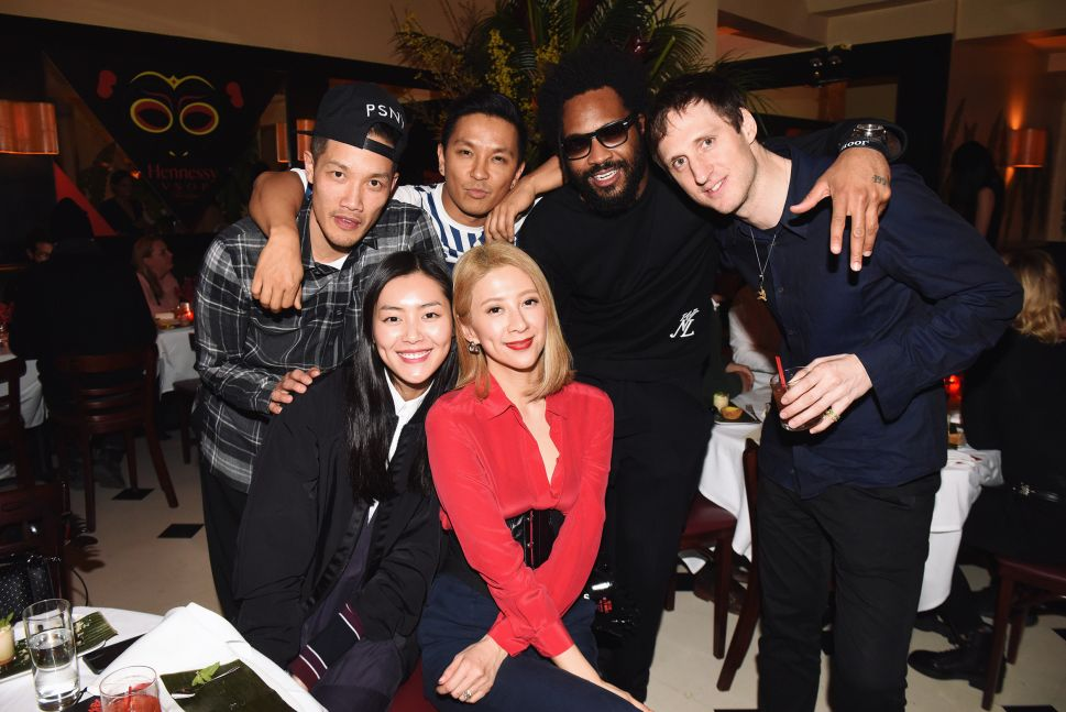 Dao Yi-Chow, Prabal Gurung, Maxwell Osborne, Marc Alary, Liu Wen, Canis Chow (Photo: Hennessy).