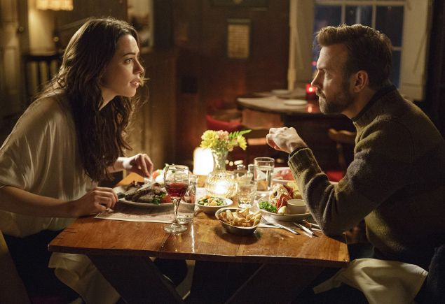 Rebecca Hall and Jason Sudekis, in Tumbledown. PHOTO: Starz Digital
