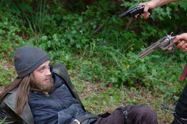 "Tom Payne as Paul ""Jesus"" Monroe in The Walking Dead."