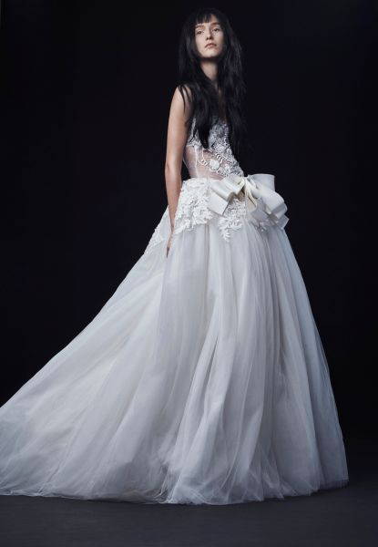 A dress from Vera Wang's 2016 Bridal Collection.