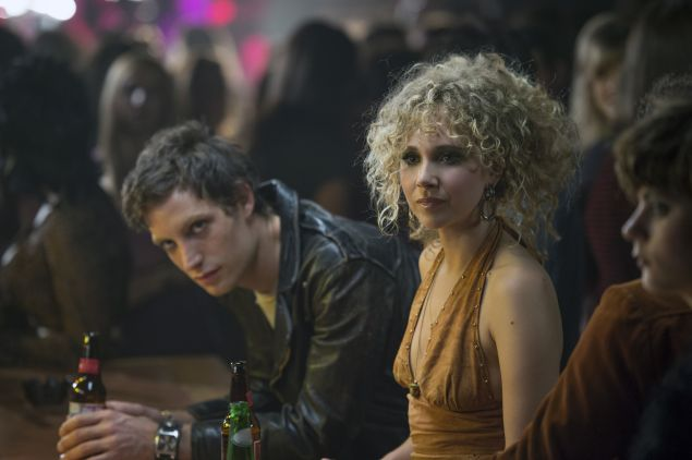 James Jagger and Juno Temple in Vinyl.