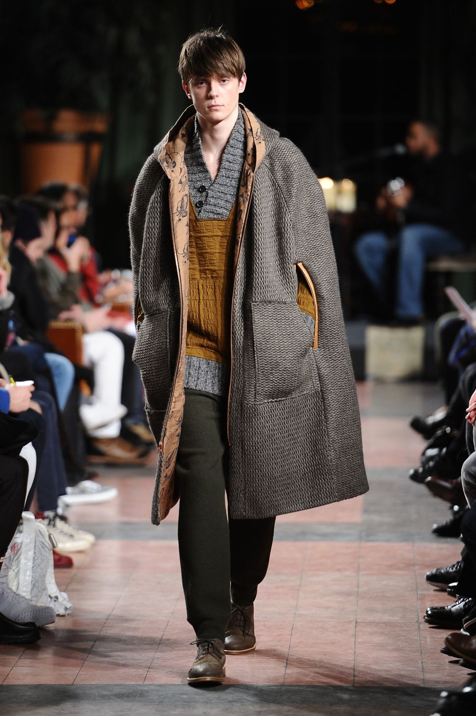 Billy Reid Fall/Winter 2015 (Photo: WireImage).