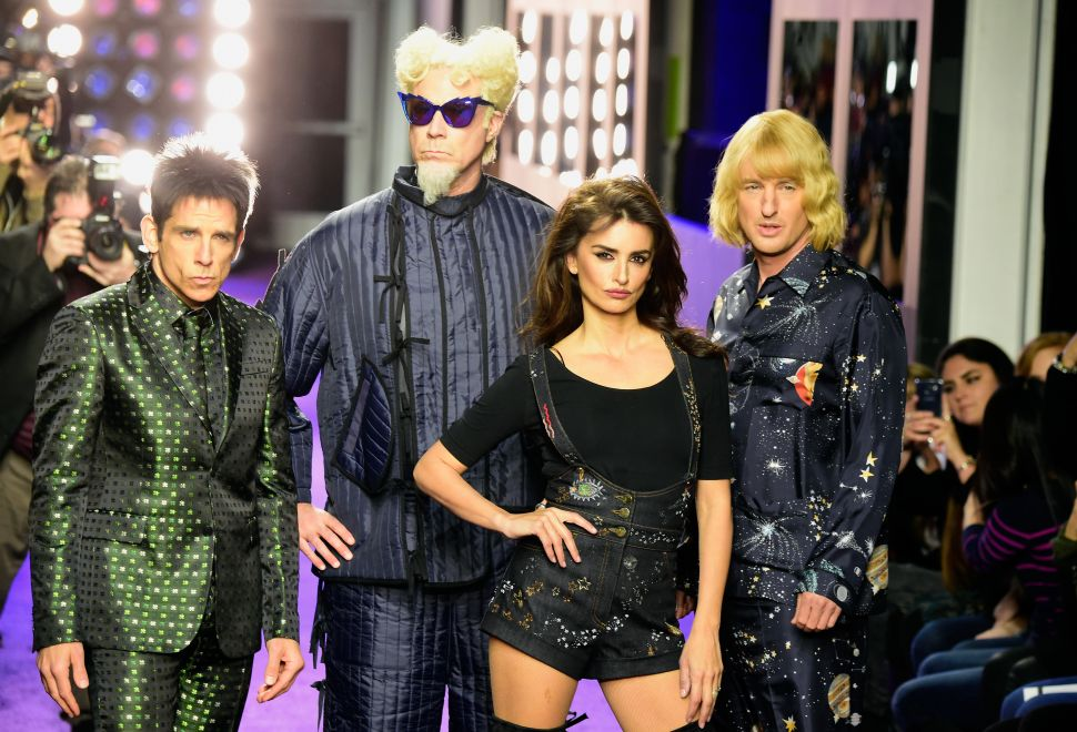 Ben Stiller, Will Ferrell, Penelope Cruz, Owen Wilson (Photo; Frazer Harrison/Getty Images for Paramount).