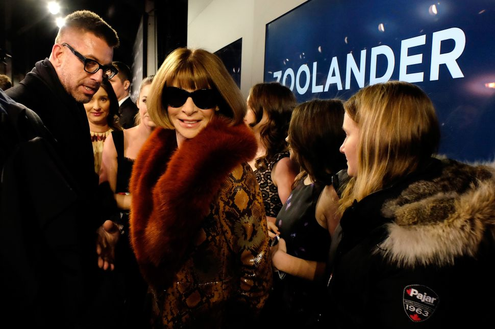 Anna Wintour (Photo: Frazer Harrison/Getty Images for Paramount).