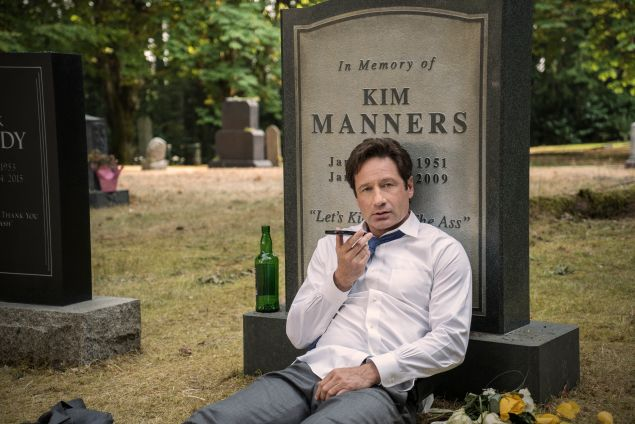 David Duchovny as Special Agent Fox Mulder in The X-Files.