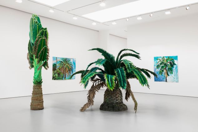 Installation view from the 2016 solo exhibition Day and Night at David Zwirner, New York. (Image: Courtesy David Zwirner, New York/London)