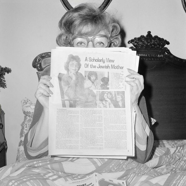 """""""Mom Reading A Scholarly View of the Jewish Mother, Thanksgiving 1978"""""""
