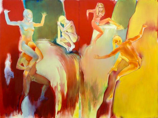 Allen Jones, Cascade, (1999-2000).