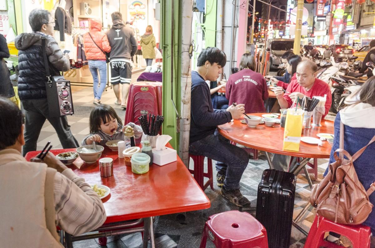 Christmas Dinner Special. Hua Lien, Taiwan.