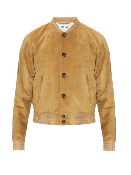 Loewe Suede Bomber Jacket, $3,630, MatchesFashion.com