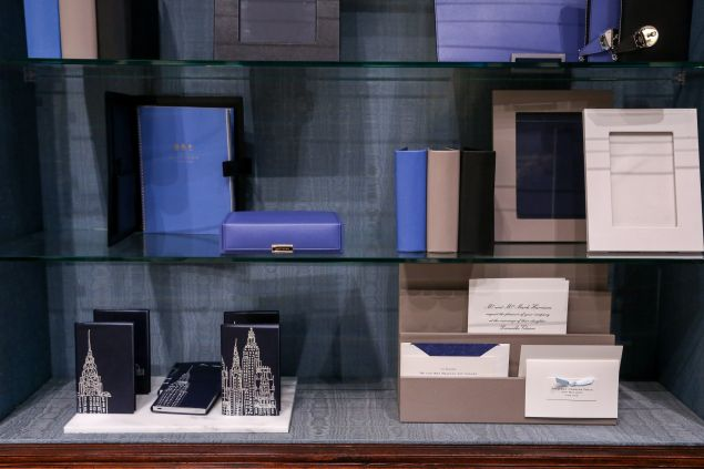 Fine leather goods from Smythson