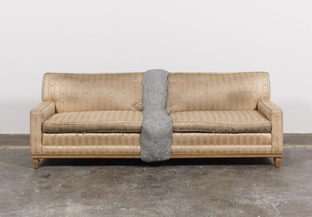 Rodney McMillian, Couch, 2012.