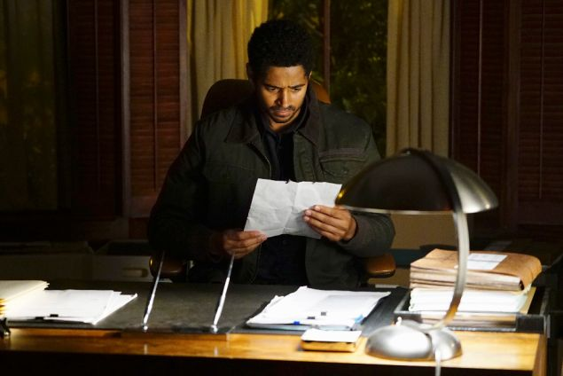 Alfred Enoch in How to Get Away with Murder.