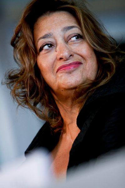 Zaha Hadid.