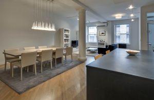 A sleek Tribeca loft was Ms. Turner's abode of choice.