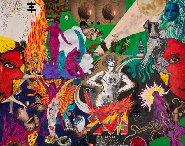 Genesis Breyer P-Orridge, Kali in Flames, 1986.