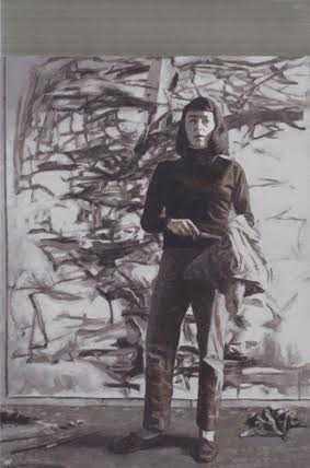 Miguel Aguirre, Joan Mitchell (From the series New York School), 2015.