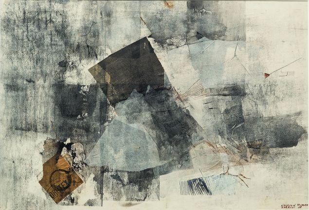 Nasreen Mohamedi's Untitled, 1969.