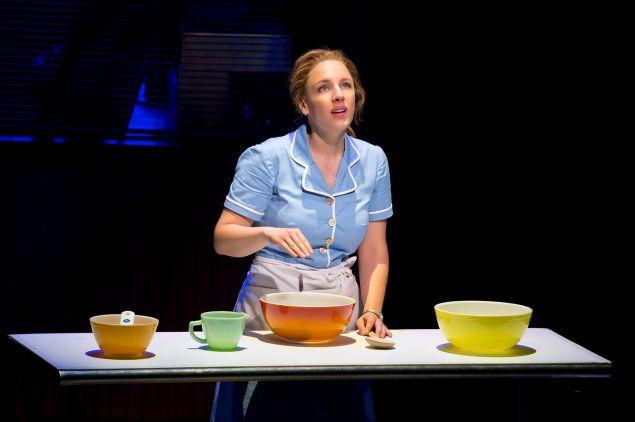 Jessie Mueller in Waitress.