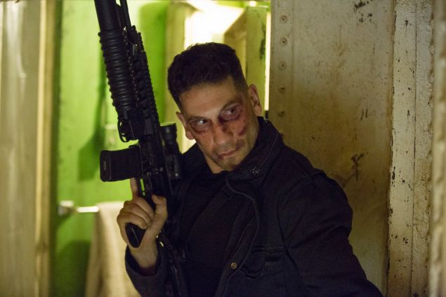 Jon Bernthal in Marvel's Daredevil.