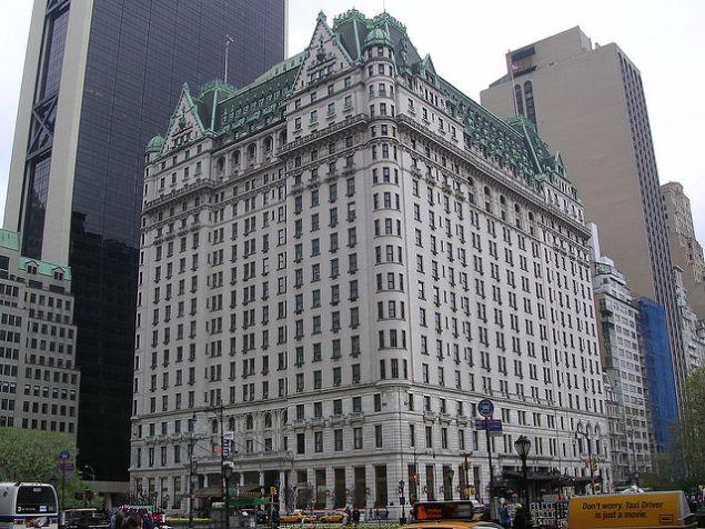 The Plaza Hotel.