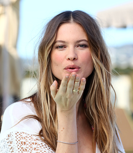 BEVERLY HILLS, CA - MARCH 08: Victoria's Secret Angel Behati Prinsloo launches the all new Victoria's Secret swim collection and celebrates the 2016 Swim Special at the SLS Hotel on March 8, 2016 in Beverly Hills, California