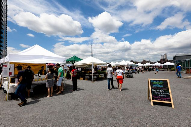 Smorgasburg will return on Saturday to the relief of food bloggers everywhere!