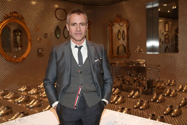 Thom Browne== Caroline Baumann hosts Talks and Private Reception with Thom Browne== Cooper Hewitt Smithsonian Design Museum, 2 East 91st Street, NYC== March 17, 2016== ©Patrick McMullan==