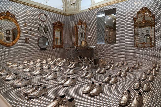 Atmosphere== Caroline Baumann hosts Talks and Private Reception with Thom Browne== Cooper Hewitt Smithsonian Design Museum, 2 East 91st Street, NYC== March 17, 2016== ©Patrick McMullan==