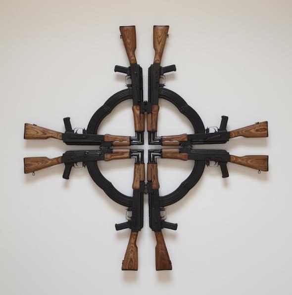 Mel Chin, A Cross for the Unforgiven, 2002.