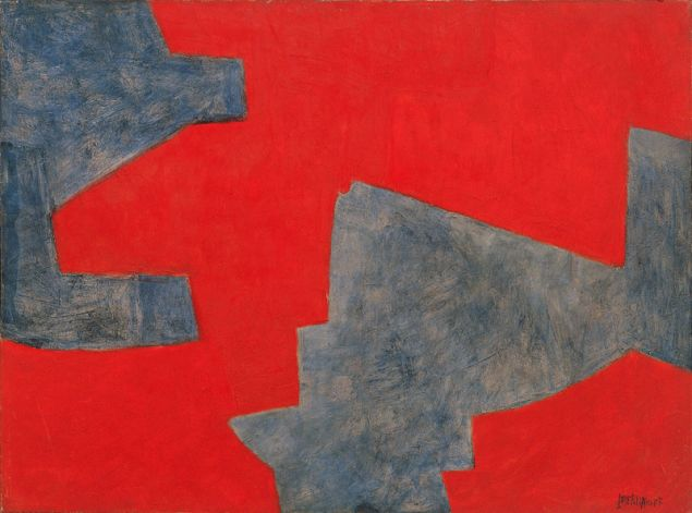 Serge Poliakoff, Composition Abstraite, 1962.