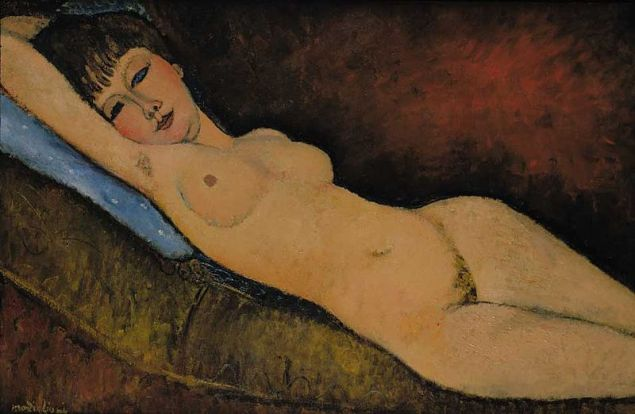 The 1916 Modigliani purchased by