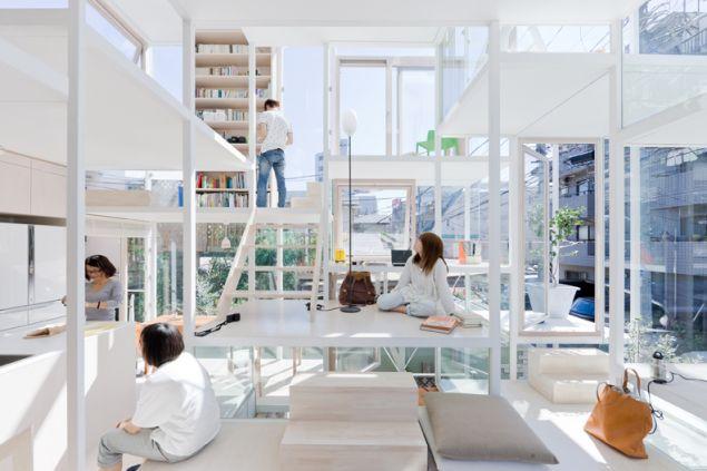 Sou Fujimoto. House NA, Tokyo. 2007–11.