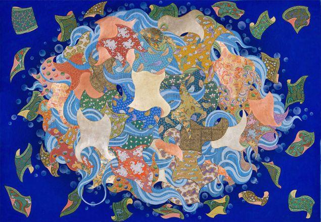 Pema Rinzin, Peace Booom 1, (2015).