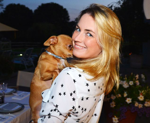 Amanda Hearst and Finn.