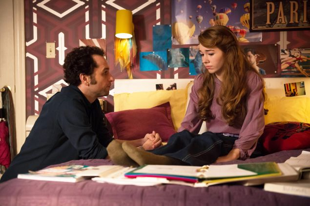 Matthew Rhys as Philip Jennings and Holly Taylor as Paige Jennings.