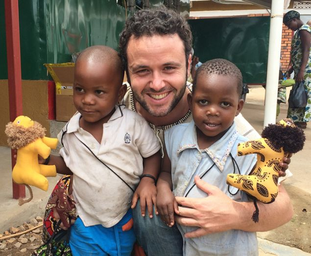 Antonio Ruiz-Giménez, Jr. recently spent time in Uganda where his client Keep a Child Alive serves 12,000 patients affected by HIV and AIDS.