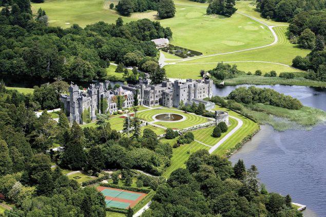 Ashford Castle grounds.