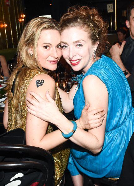 From left: Aimee Mullins and Rachel Feinstein.