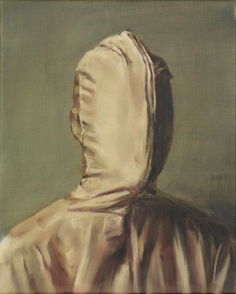 Michaël Borremans' The Promise V, 2016.