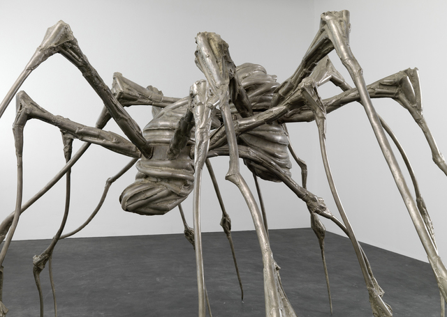 Louise Bourgeois' Spider Couple, 2003.