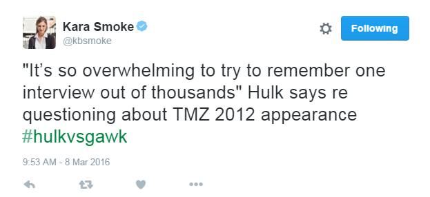 Hulk is a publicity magnet.