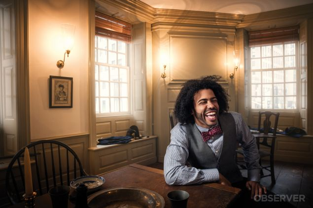 Daveed Diggs, hours before Grammys performance.