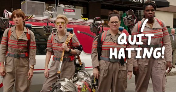 A creative Twitter user made this graphic in support of Leslie Jones' 'Ghostbusters' character.