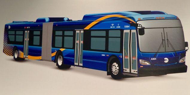 New bus design.