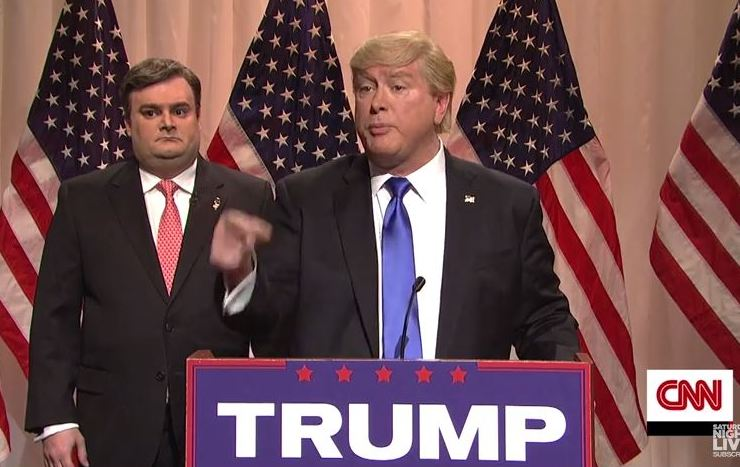 """The """"hostage"""" incident inspired an SNL skit."""