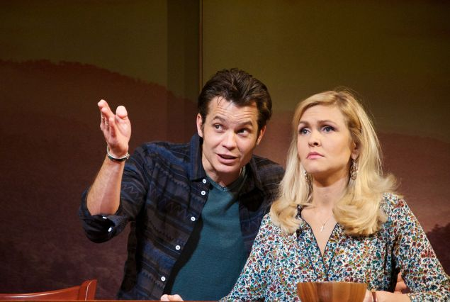 Timothy Elephant and Jenn Lyon in Hold On to Me Darling.