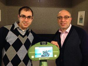 Potoboics CEO, David Goldstein and co-founder Baruch Goldstein.
